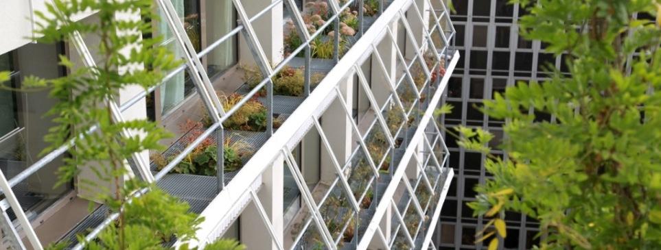 Façades-vertes-de-bureaux-bacs-sur-mesure-acier-galvanisé